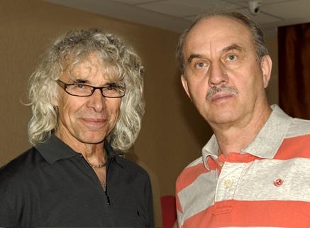 Aleksander Lwow i Leszek Cichy.  Fot. B.Jankowski