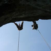 Warsztaty z kanioningowych technik linowych