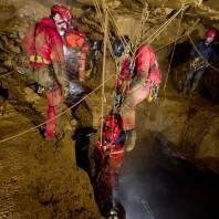 Sprawozdanie z XII Śląskich manewrów ratownictwa jaskiniowego