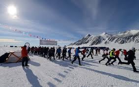maraton antarktyda