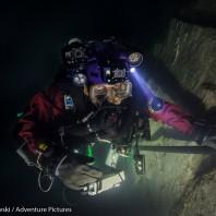 Krzysztof Starnawski- odkrywca najgłębszej zalanej jaskini świata