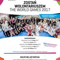Zostań Wolontariuszem THE WORLD GAMES 2017