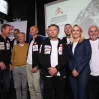 Konferencja prasowa inaugurująca Zimową NarodowąWyprawę na K2