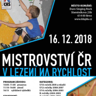 Mistrzostwa Czech we wspinaczce na czas – zaproszenie