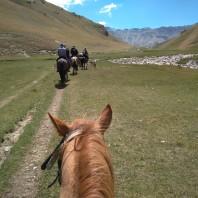 Na koniach, Tash-Rabat Aut. Jan Barabach