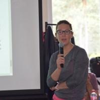 Monika Strojny mówi o zawodach narciarskich