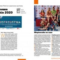 Z Tarnowa do Tokio 2020. Mistrzostwa Polski we wspinaczce sportowej