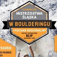 Mistrzostwa Śląska w boulderingu – Tarnowskie Góry 2019