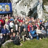 Skałki Rzędkowickie – zdjęcie zbiorowe wegantów, ludzi zapisanych na kartach Wielkiej Encklopedii Gór i Alpinizmu, 2017
