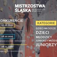 Mistrzostwa Śląska – bouldering – wyniki