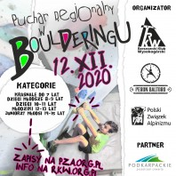 Puchar Regionalny w boulderingu – Rzeszów 2020