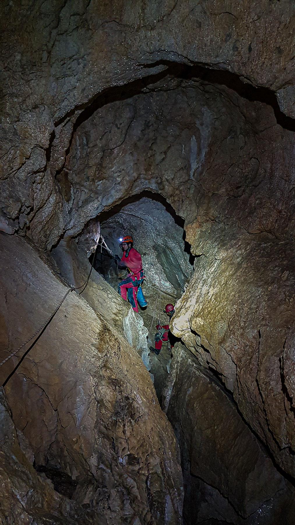 Jaskinia Wielka Mała Burza, fot. Zbyszek Tabaczyński