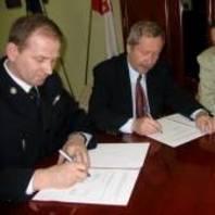 Porozumienie zPaństwową Strażą Pożarną