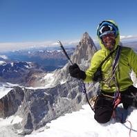 Marcin Wernik na Cerro Torre!